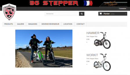 3G Stepper Bike - Faites du stepper en plein air !